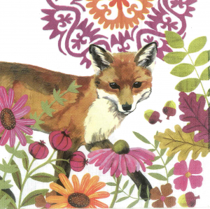 Servetel decorativ vulpe0
