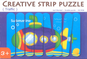 Submarin puzzle 32 spatule0