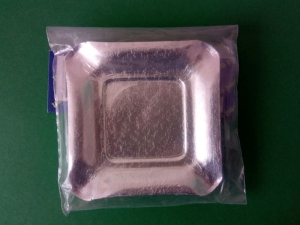 Farfurii argintii 9 cm0