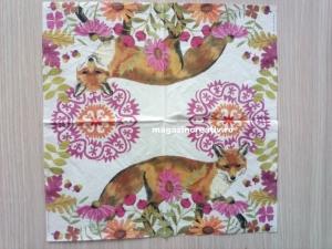 Servetel decorativ vulpe1