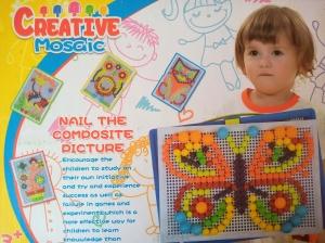 Pioneze - mozaic creativ0
