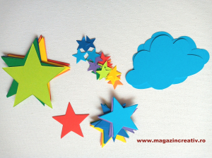 Stele curcubeu - set creativ1