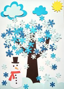 Copacul iernii - set creativ0
