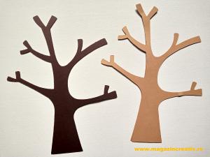 4 copaci cu crengi 24 cm0
