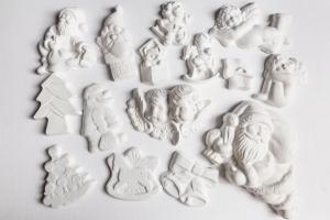 15 figurine din ipsos pentru Craciun0