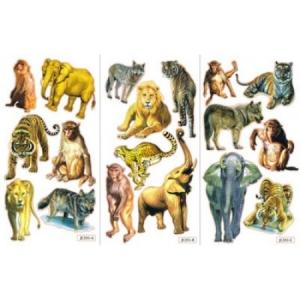 Abţibild animale sălbatice1