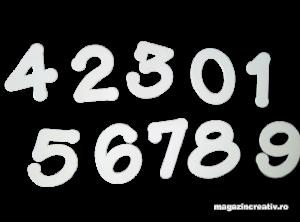 Cifre albe carton 240 grame0
