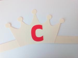 Coroană literă - set creativ [2]