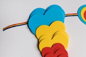 Ghirlanda Iubesc Romania - 5 m1