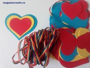 Ghirlanda Iubesc Romania - 5 m2