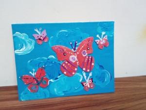 Panza pictura pe placaj 18/ 24 cm3