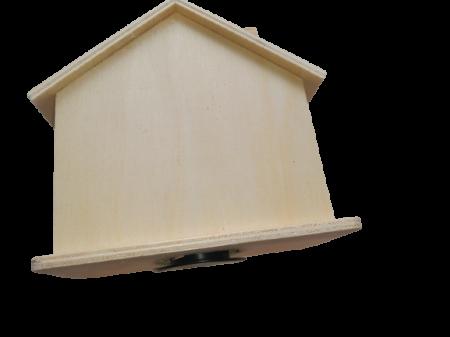 Pusculita lemn blanc - casa1