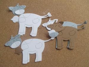 Vaca - set creativ0