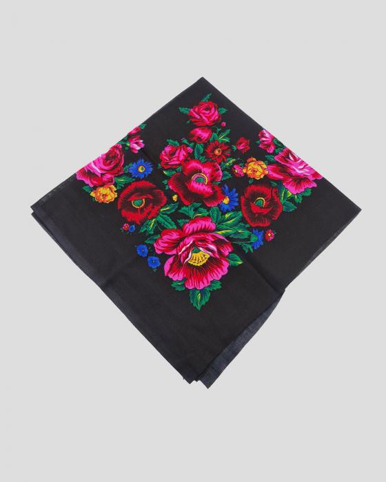 Batic Traditional cu Imprimeu Floral 7