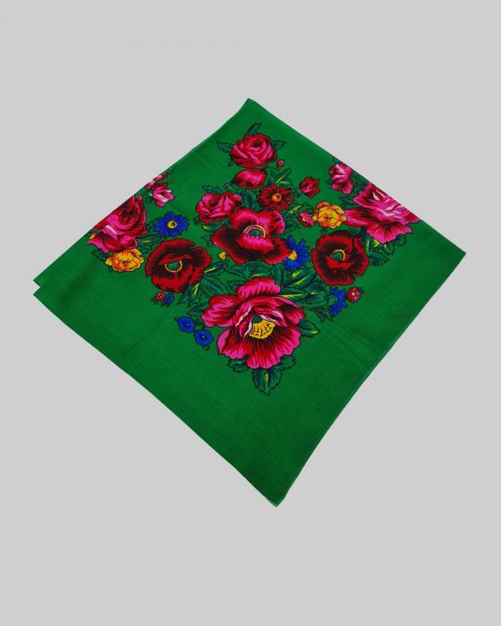 Batic Traditional cu Imprimeu Floral [8]