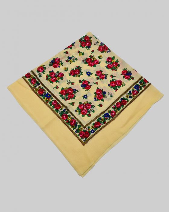 Batic Traditional cu Imprimeu Floral 5