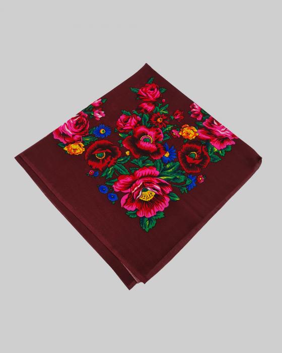 Batic Traditional cu Imprimeu Floral [12]