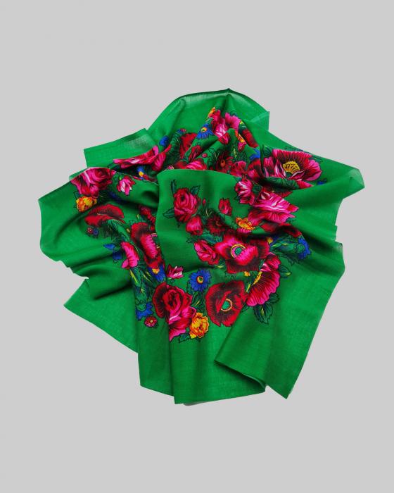 Batic Traditional cu Imprimeu Floral 13