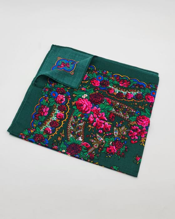 Batic Traditional cu Imprimeu Floral 14