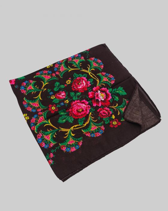 Batic Traditional cu Imprimeu Floral 10