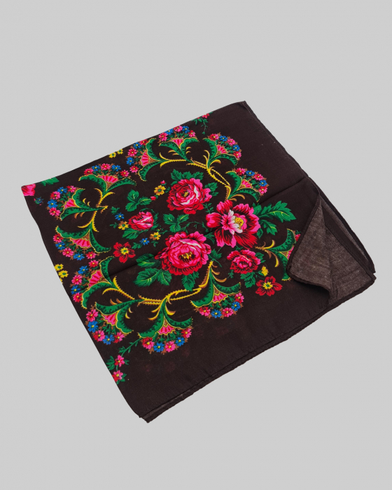 Batic Traditional cu Imprimeu Floral [14]