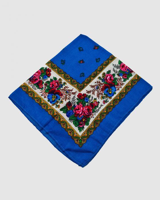 Batic Traditional cu Imprimeu Floral [15]