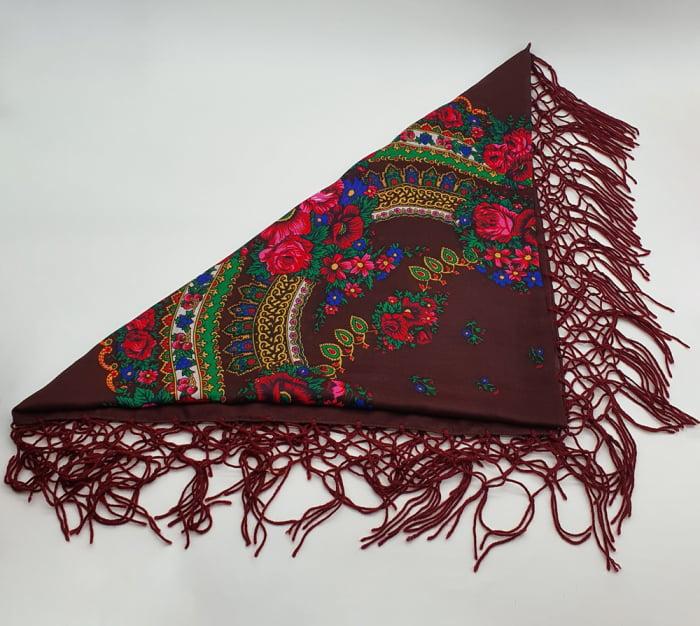 Batic Traditional cu Imprimeu Floral 9