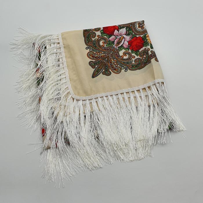 Batic Traditional cu Imprimeu Floral 2