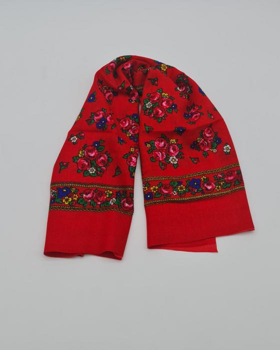Batic Traditional cu Imprimeu Floral 18