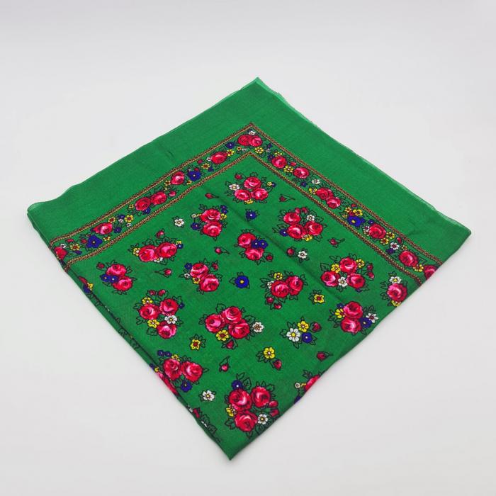 Batic Traditional cu Imprimeu Floral 15