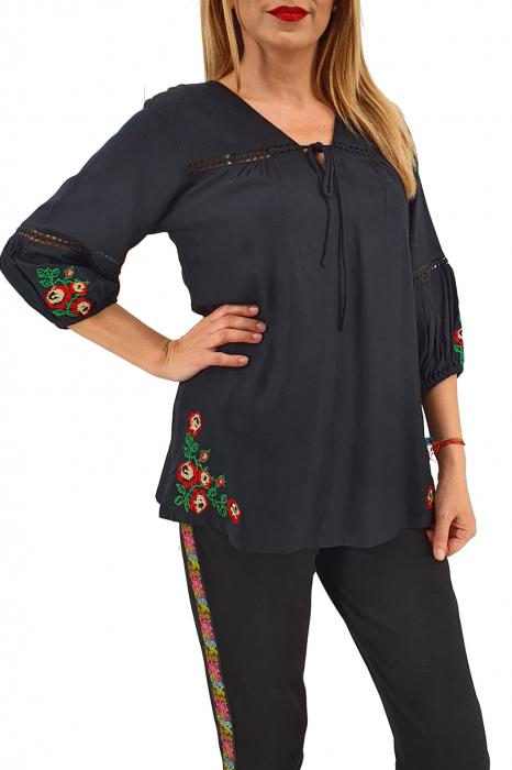 Bluza brodata Letitia 0