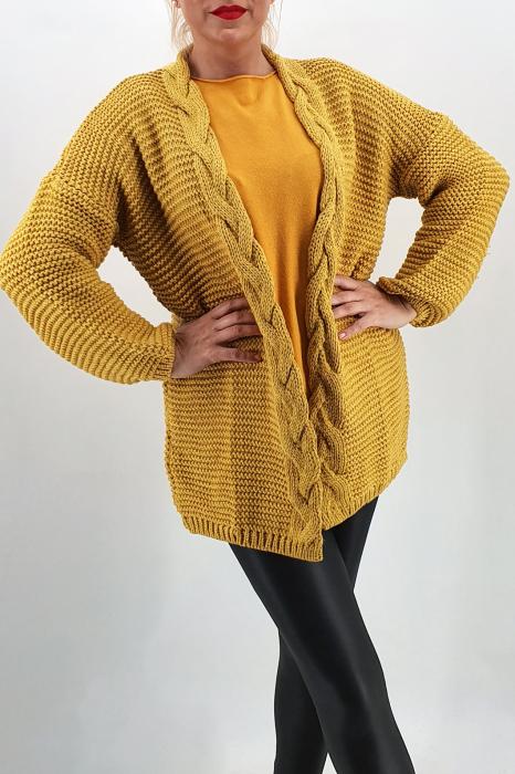 Cardigan din tricot Leonia 3 0