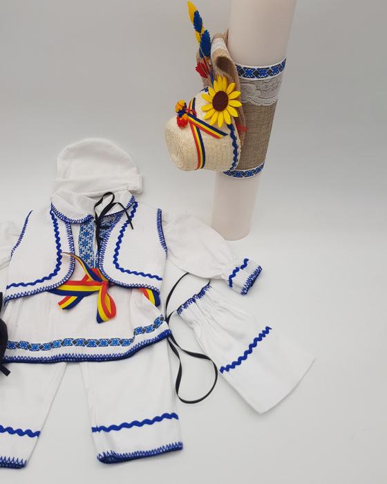 Compleu traditional baietel Adan 3 2
