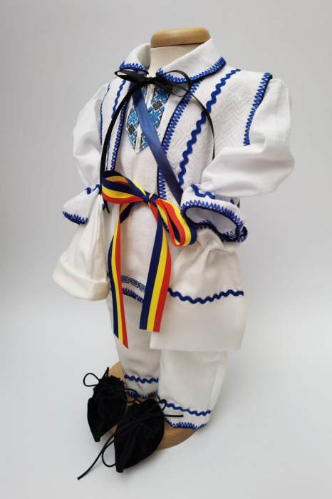 Compleu traditional baietel Albastru [1]