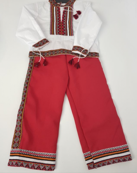 Costum traditional baieti- Costin 0