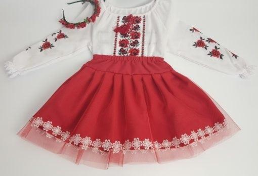 Compleu traditional fetita Alexia 0