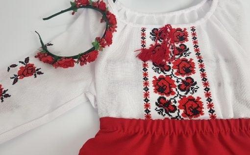 Compleu traditional fetita Alexia 2