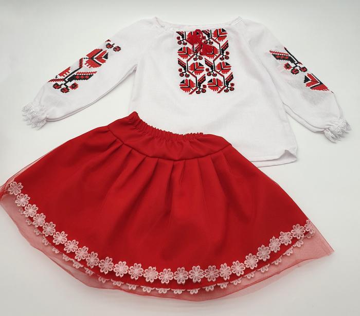 Compleu traditional fetite Alexia 2