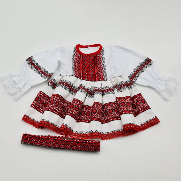 Compleu traditional fetite Matilda 0