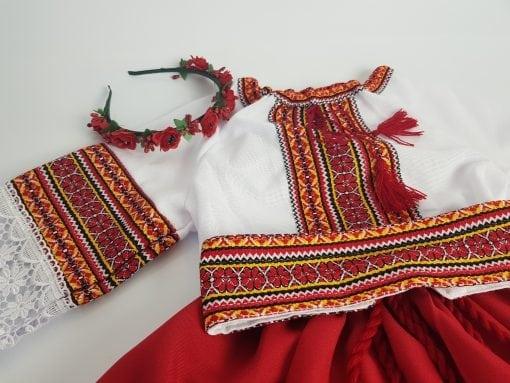 Compleu traditional fetita Adela 1