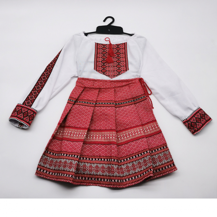 Compleu traditional fetita Natalia 4 0