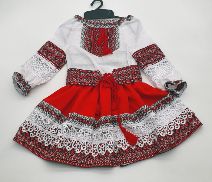 Compleu traditional fetite Natalia 6 0