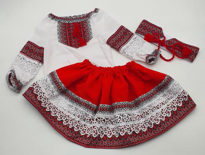 Compleu traditional fetite Natalia 6 1