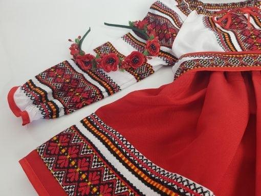 Compleu traditional fetita Natalia 2