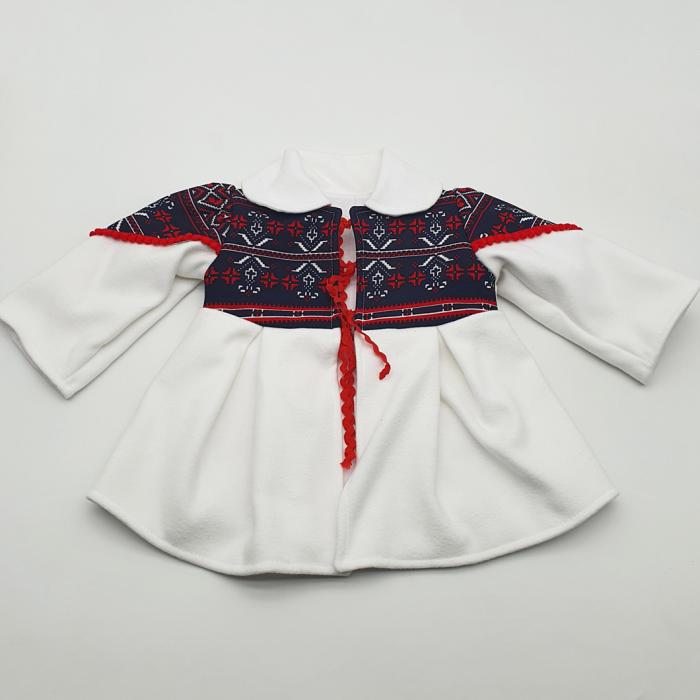 Costum traditional fetita - Palton/Rochita/Fota/Batic si Botosei 2