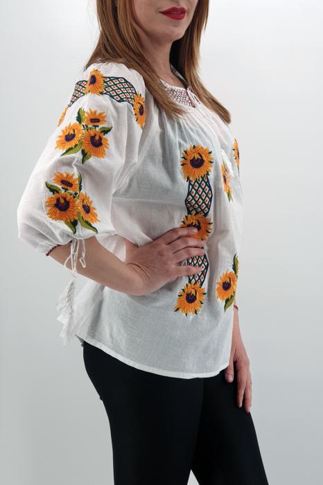 Ie Traditionala Floarea Soarelui