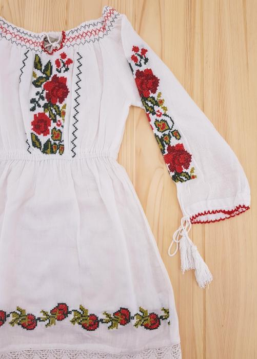 Rochie traditionala Fetita Alexandra 2