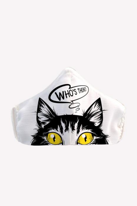 Masca reutilizabila pentru fata - Pisica [0]