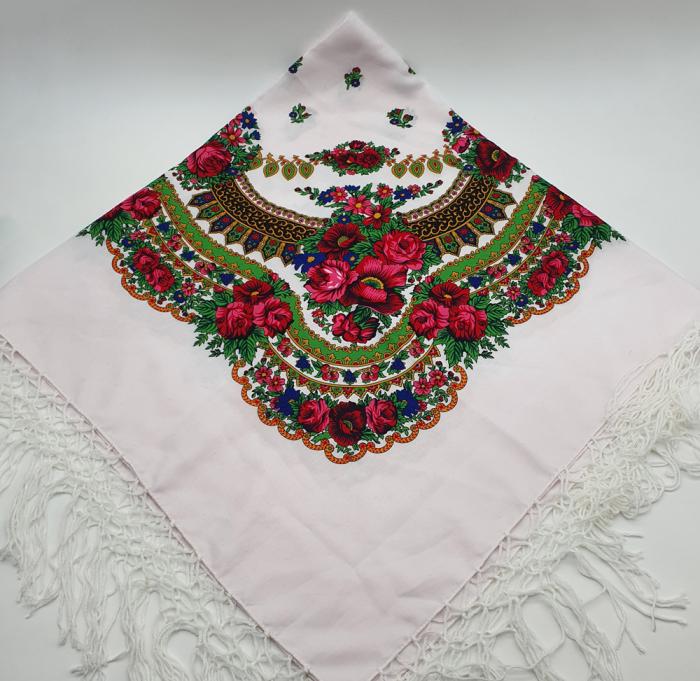 Batic Traditional cu Imprimeu Floral 4