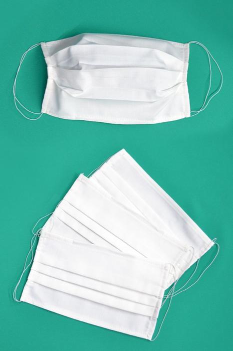 Masca de protectie din bumbac 0